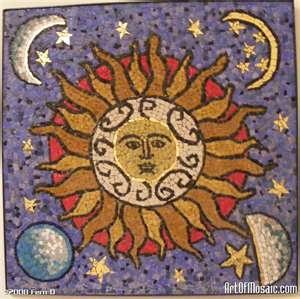 Sole con lune
