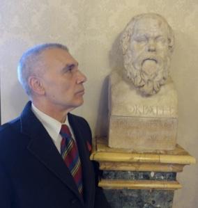 Giorgio Linguaglossa e Socrate