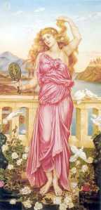 Helen of Troy Evelyn De_Morgan