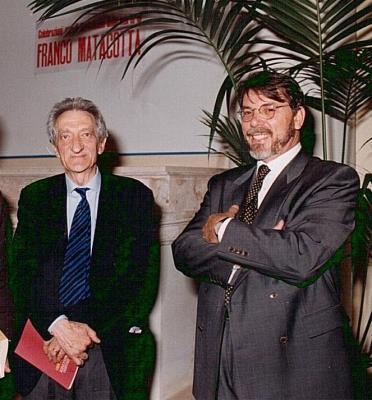 Luigi Manzi e Edoardo Sanguineti