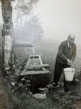 Martin Heidegger in campagna