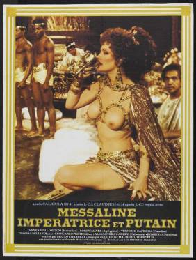 poster-1977 film Messalina