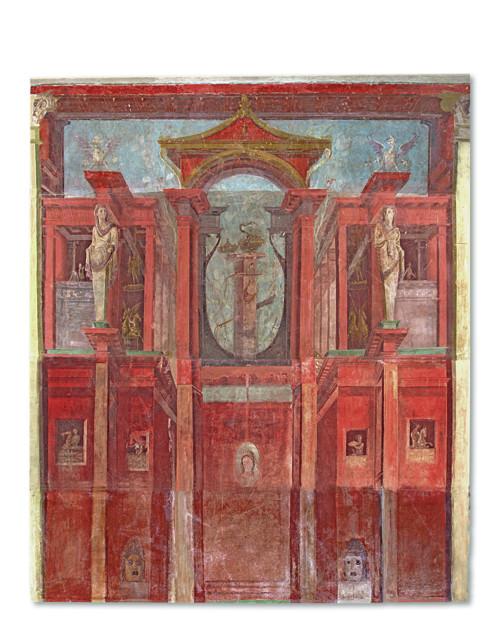 Roma_pittura parietale_ impero romano