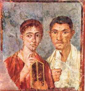 pittura parietale romana