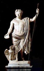 statua romana l'imperatore Claudio