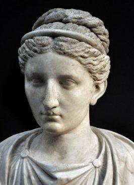 volto romano di donna