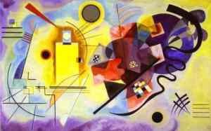 wassily kandinsky yellow red blue 1925