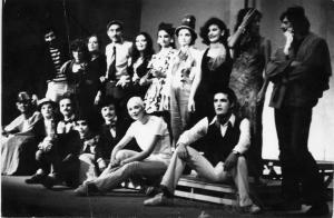 antonio sagredo Teatro Politecnico 1974