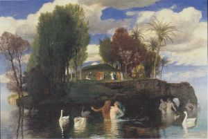 Arnold Böcklin_Die_Lebensinsel_-1888