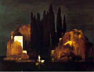 arnold bocklin Toteninsel (L'isola dei morti)