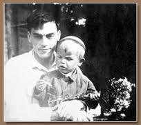 arsenij tarkovskij con il figlio andrej