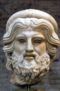 testa di Esculapio Epoca imperiale