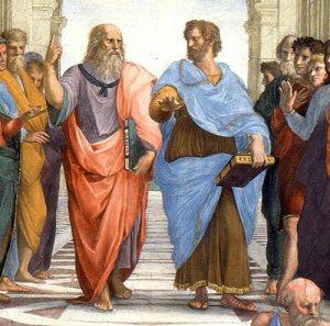 Scuola di Atene, Raffaello i filosofi