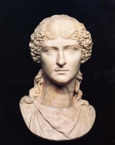 Vipsania Agrippina busto