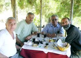 Faslli Haliti con Gezim Hajdari