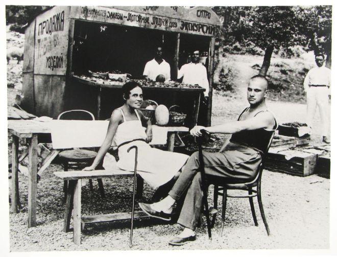 Majakovskij lilia Brik jalta-1926