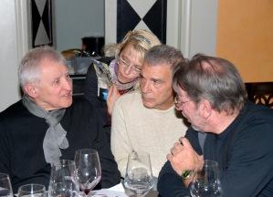 Alfredo de Palchi, Giorgio Linguaglossa, Luigi Manzi e Claudia Marini