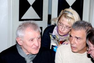 alfredo de palchi, giorgio linguaglossa, claudia marini e luigi manzi - Roma, 2011