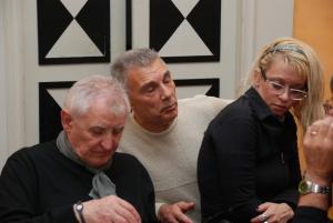 Alfredo de Palchi, Giorgio Linguaglossa e Claudia Marini