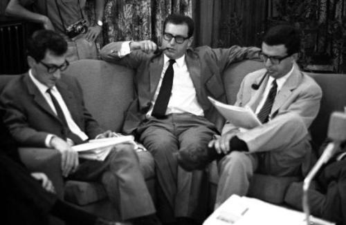 Umberto Eco, Edoardo Sanguineti, Furio Colombo