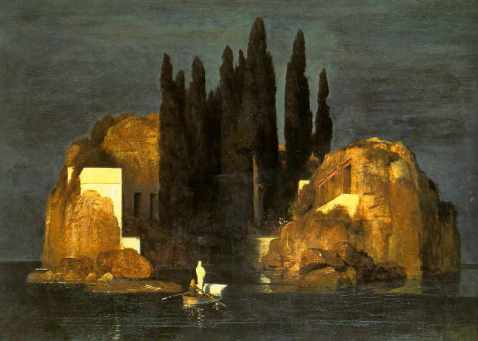 Arnol Bocklin Isola_dei_Morti versione originale