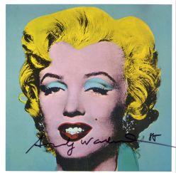 Andy Warhol_Marilyn 1967 serigrafia su carta pezzo unico fuori edzione cm91x91