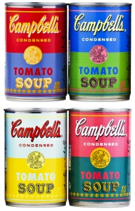 A. Warhol campbell tomato soup