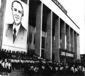 Manifestazione ufficiale a Tirana
