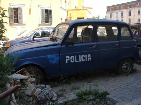 besnik Polizia di tirana
