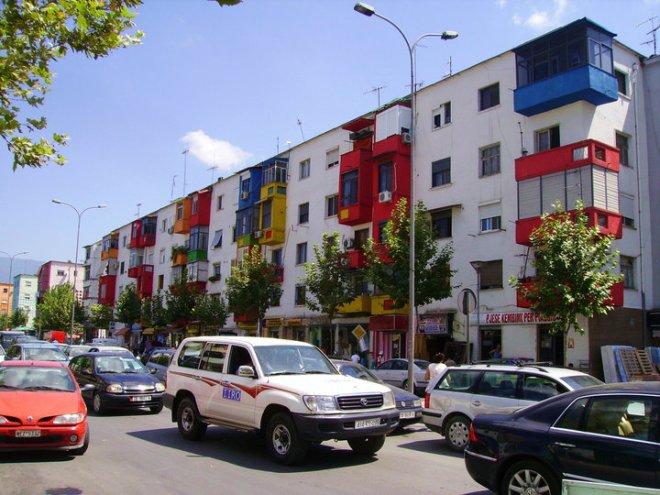 Tirana scorcio urbano