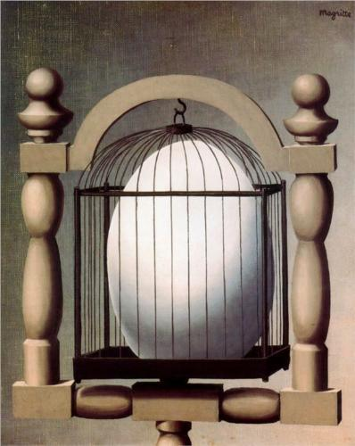 Linguaglossa Magritte elective affinities 1933