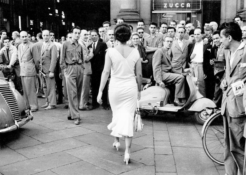 Mario De Biasi_ 1954 stampa d'epoca