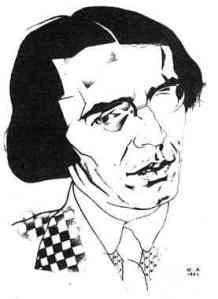 Vladislav Chodasevič  disegno