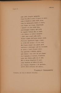 Vladislav Chodasevič  pagina di una poesia