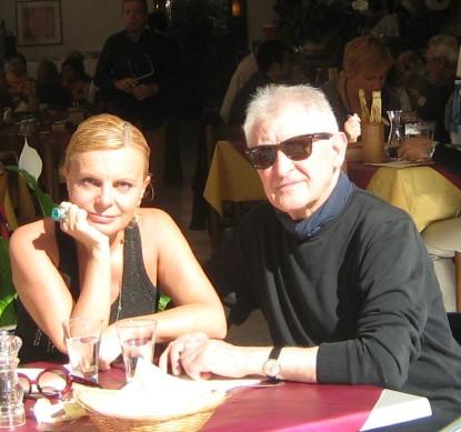 Antonella Zagaroli con Alfredo de Palchi, Venezia 2011