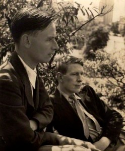 Christopher William Bradshaw Isherwood; Wystan Hugh ('W.H.') Auden by Louise Dahl-Wolfe