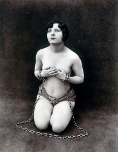 Photograph of Woman in Bondage, 1920s