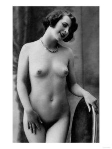 foto d'epoca di nudo