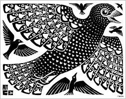 cornelius escher la colomba