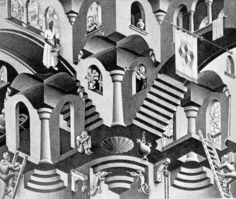 labirinto escher