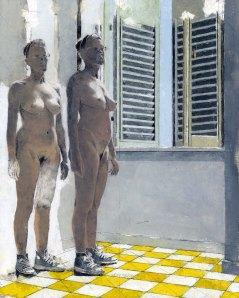 giorgio ortona Corpo,_2012,_olio_su_tela_incollata_su_tavola