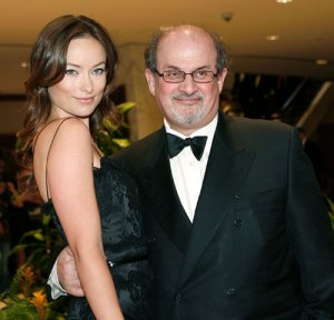 Salman-Rushdie-and-Olivia-Wilde