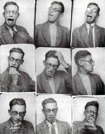 Selfie Raymond Queneau, 1929