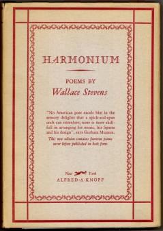 wallace stevens harmonium