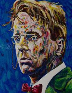 W.B.Yeats ritratto
