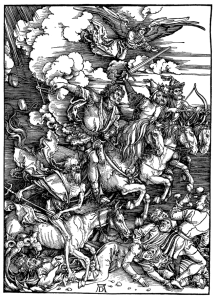 Albrecht Durer Apocalisse incisione