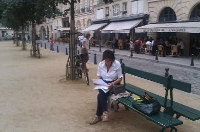 chiara moimas a Parigi
