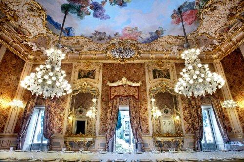 città Catania interno di palazzo-manganelli