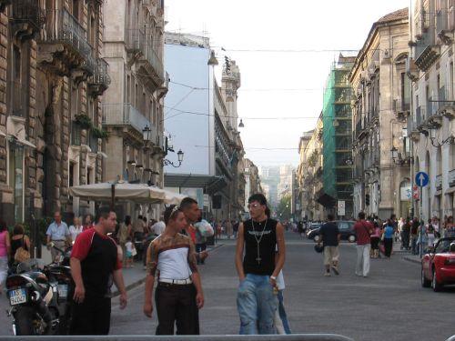 città Catania via etnea
