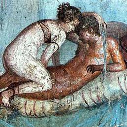 Pompei immagini del bordello
